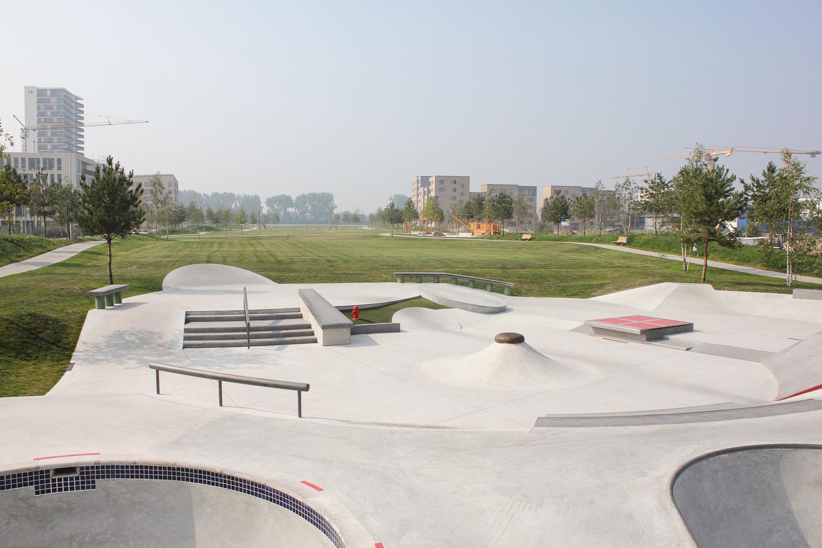 Skatepark Bremen Berseepark Street Dsgn Concepts
